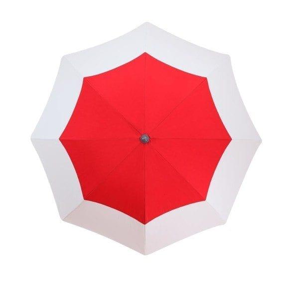 parasol de balcon Deauville Accessoire de soleil - parasol haut de gamme avec housse et jupe antivent
