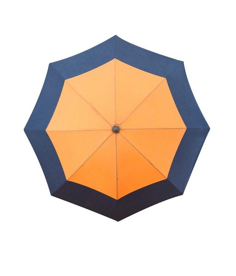 Parasol jardin en solde Cancun - parasol rond Accessoire de Soleil