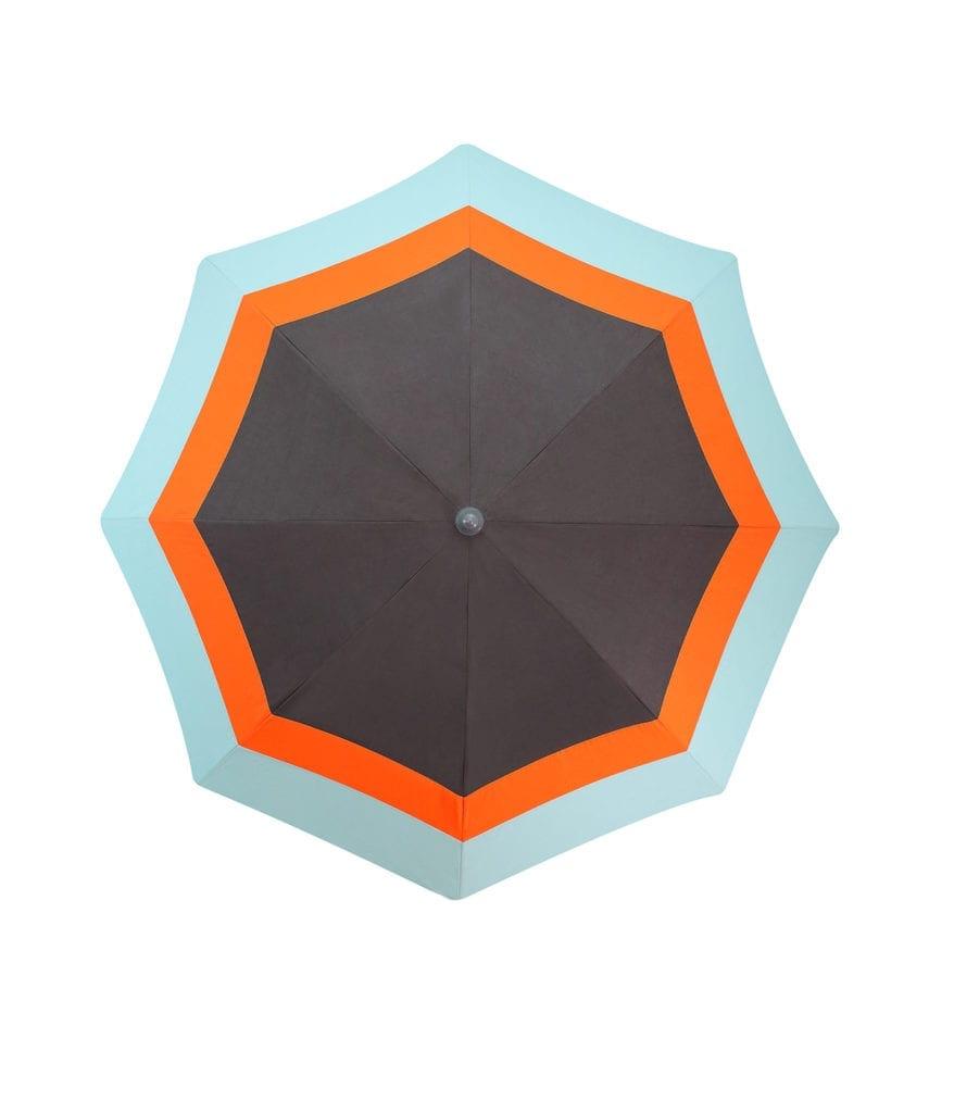 parasol rond haut de gamme lacanau accessoire de soleil pour l 39 t. Black Bedroom Furniture Sets. Home Design Ideas
