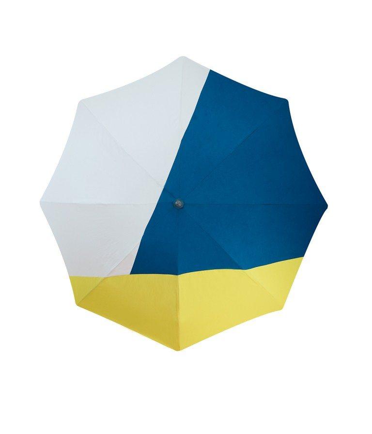 Parasol de plage en solde Rio - parasol design avec jupe antivent - Accessoire de Soleil