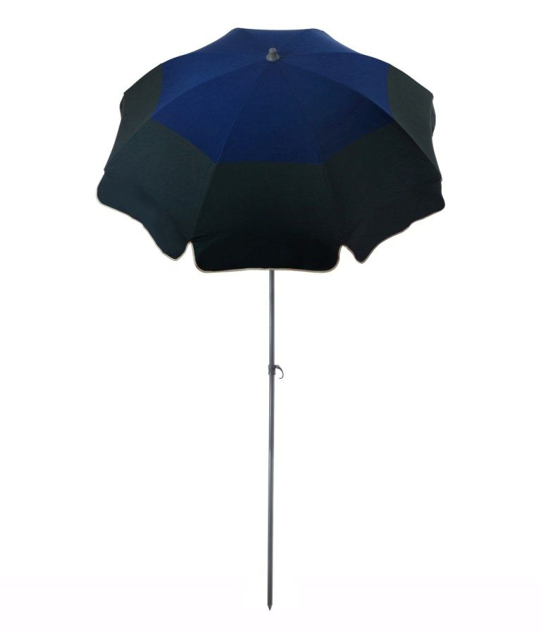 Parasol de terrasse Biarritz Accessoire de soleil - parasol pliable avec structure en acier
