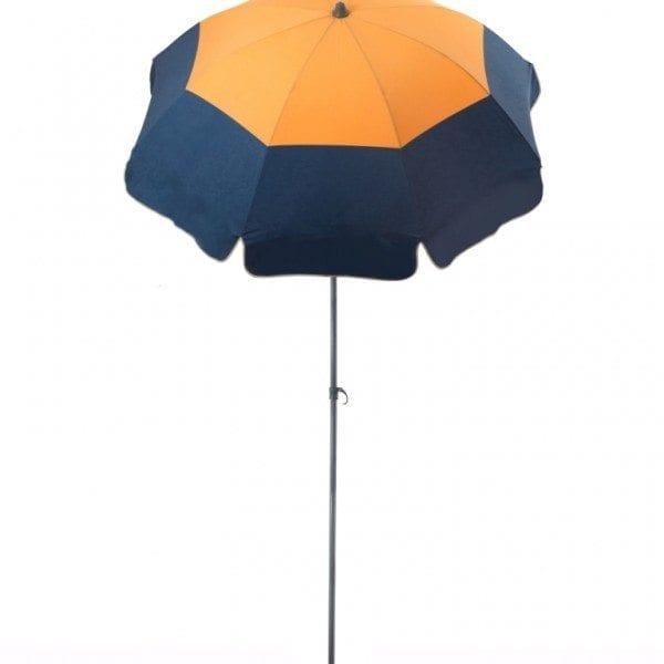 Parasol de terrasse Cancun Accessoire de soleil - parasol pliable avec structure en acier
