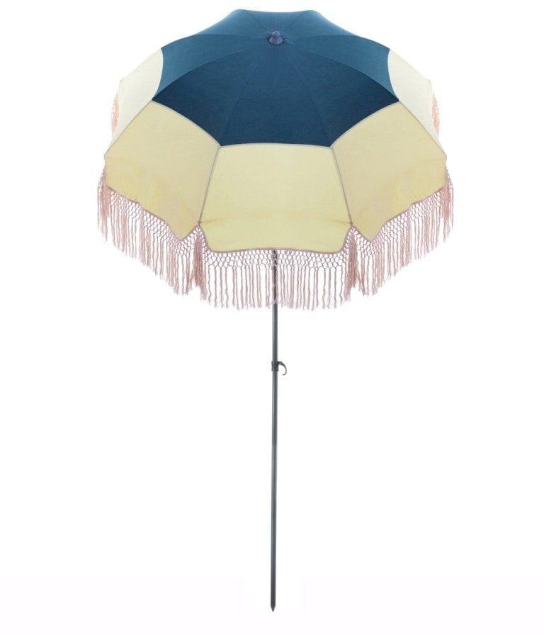 Parasol de terrasse Palm Spring Accessoire de soleil - parasol pliable avec structure en acier