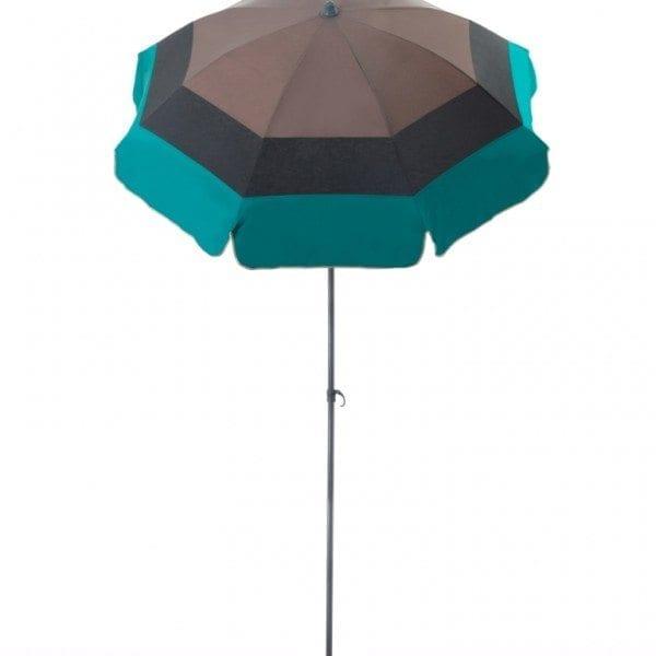 Parasol de terrasse Paris Accessoire de soleil - parasol pliable avec structure en acier
