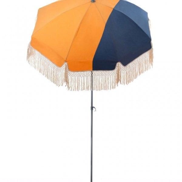 Parasol de terrasse Pondichery Accessoire de soleil - parasol pliable avec structure en acier