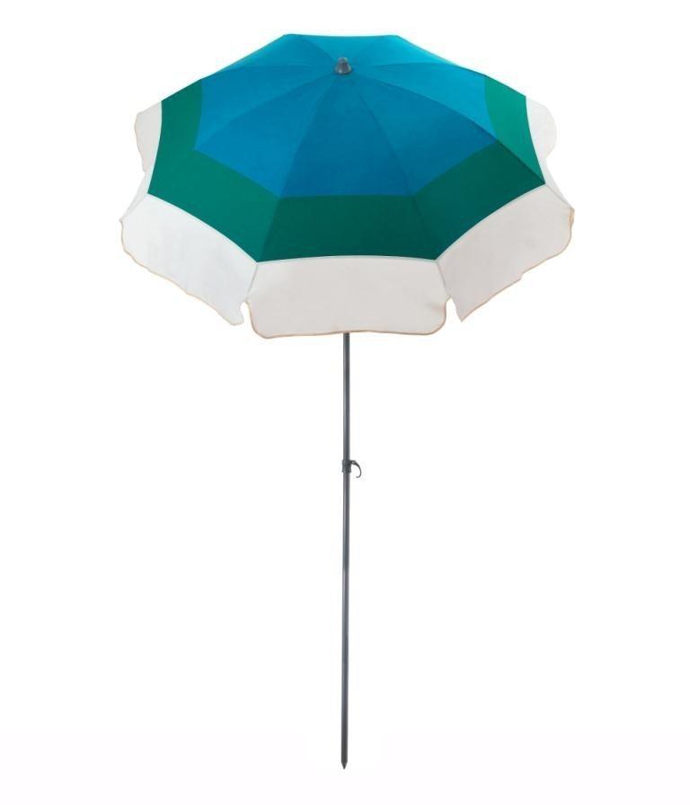 Parasol de terrasse Saint-Barth Accessoire de soleil - parasol pliable avec structure en acier