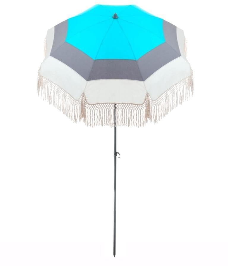 Parasol de terrasse Zanzibar Accessoire de soleil - parasol pliable avec structure en acier