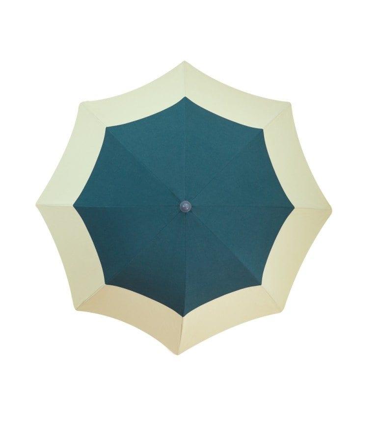Parasol haut de gamme Palm Spring Accessoire de soleil - en toile de coton naturel, 180 cm , 8 baleines