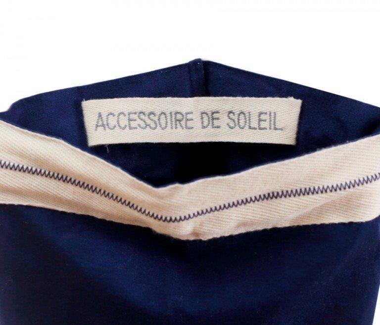 Détails housse parasol transportable Biarritz - Accessoire de soleil