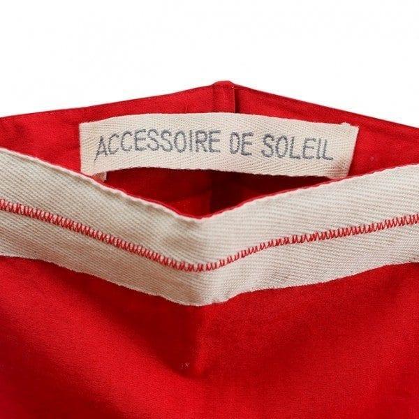 Accessoire de soleil - Detail housse deauville