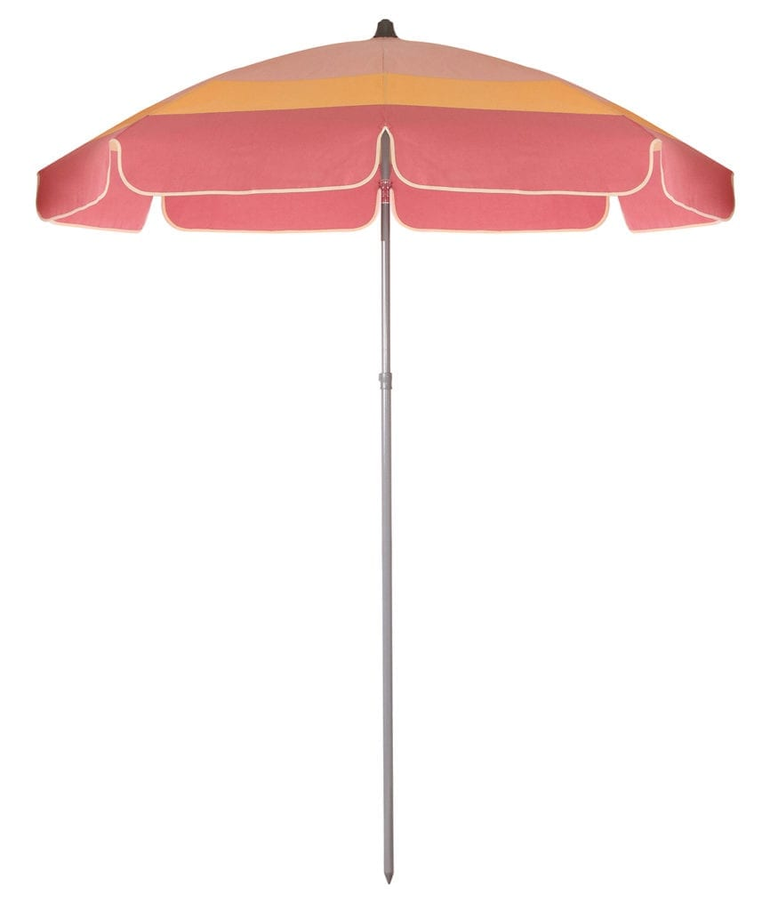 parasol de plage haut de gamme miami avec jupe. Black Bedroom Furniture Sets. Home Design Ideas