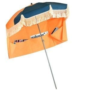 marine orange pondichery parasol de plage