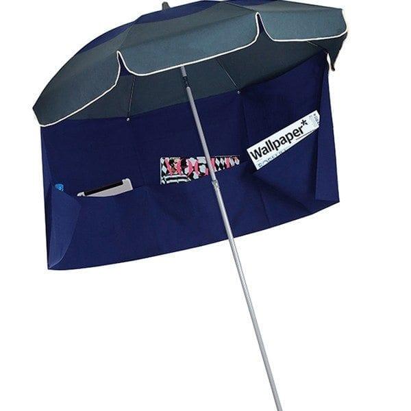 marine vert fonce biarritz parasol de plage