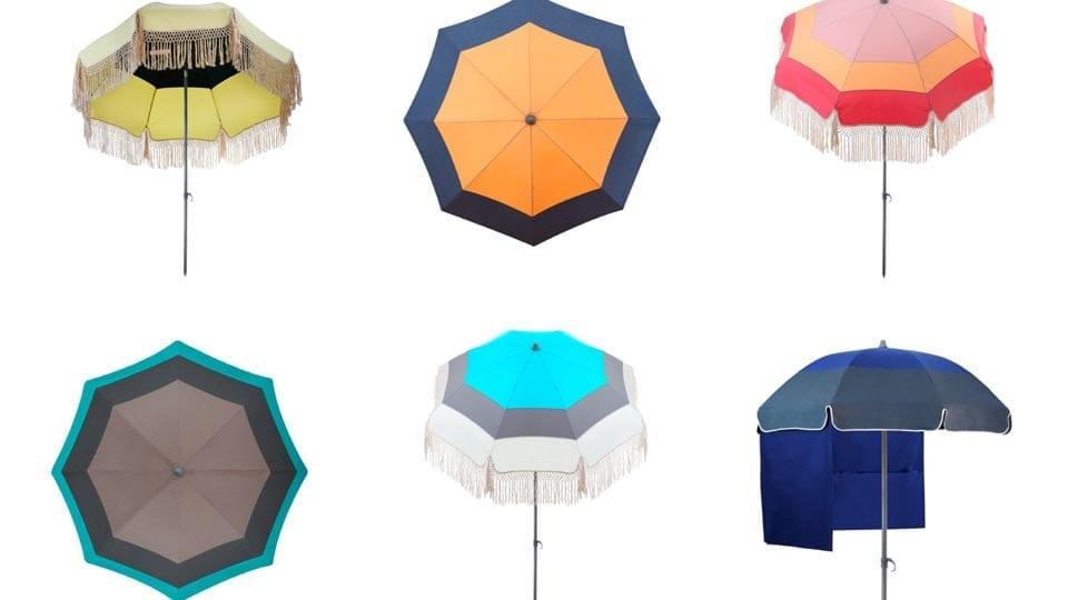 Parasols haut de gamme Accesoire de soleil - Canicule en France