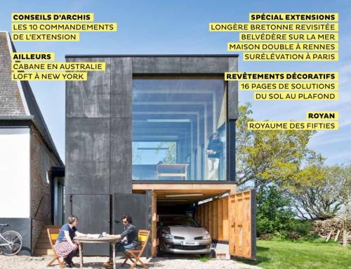 Les parasols Accessoire de soleil dans le magazine ARCHITECTURE A VIVRE