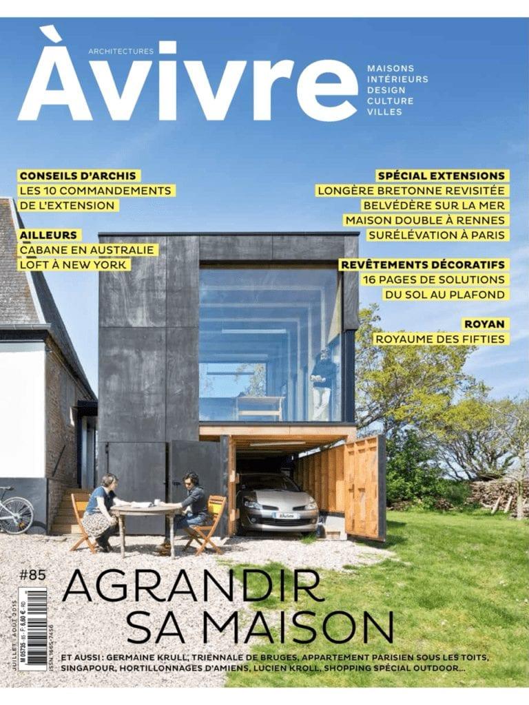 Les parasols Accesoire de soleil dans le magazine Architecture à vivre