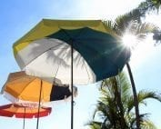 Parasol de jardin inclinable Accessoire de Soleil pour profiter du printemps