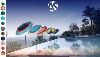Parasol de balcon et de piscine Accessoire de Soleil