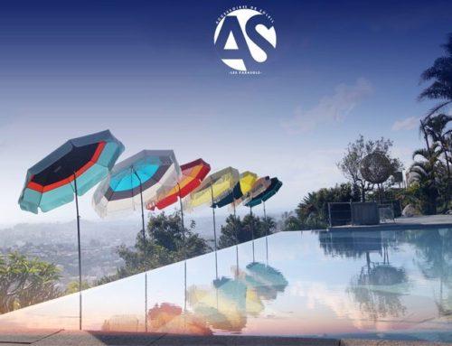 Déco extérieure : un parasol de balcon pour le printemps