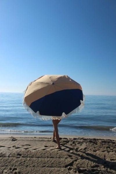 Parasol de plage haut de gamme accessoire de soleil