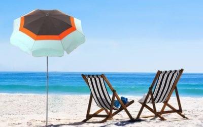 parasol de plage Lacanau Accessoire de Soleil pour les vacances d'été 2019